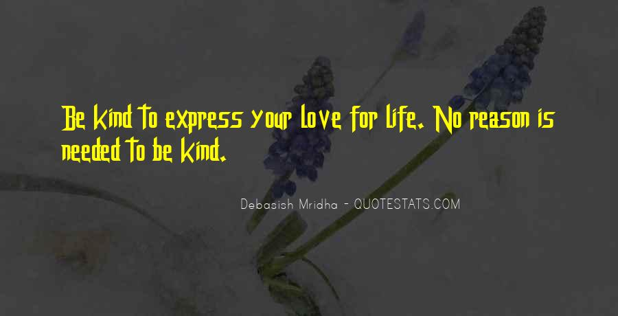 Quotes About Express Your Love #634756