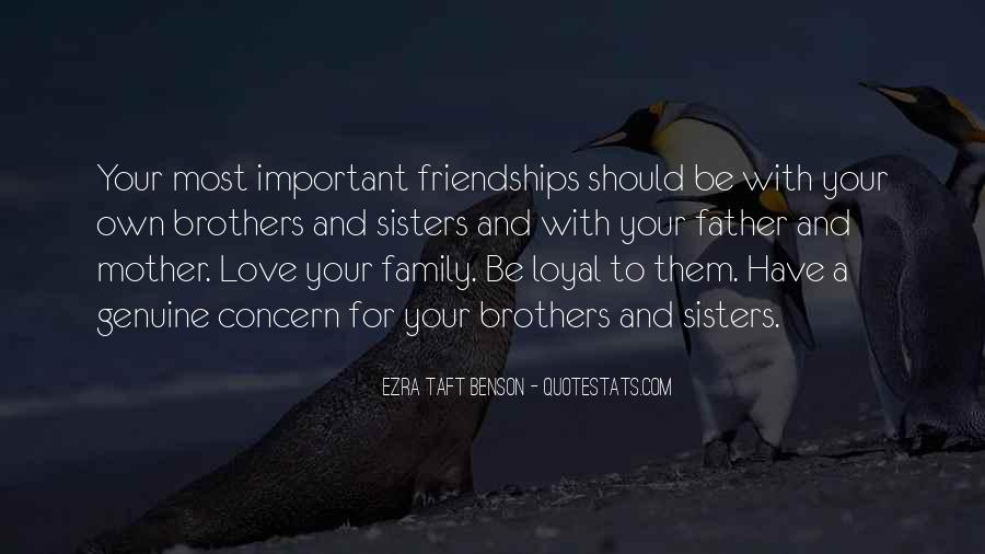 Quotes About Important Friendships #1365994