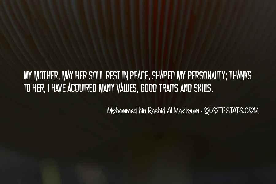 Quotes About Good Traits #1089198