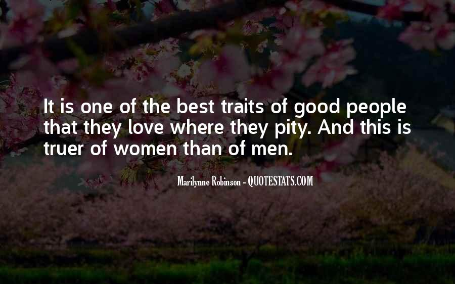 Quotes About Good Traits #1158234
