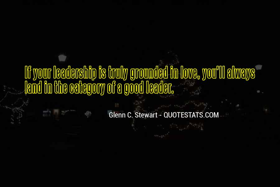Quotes About Good Traits #1639913