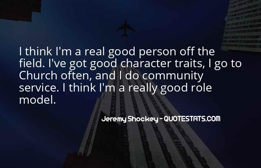 Quotes About Good Traits #618166