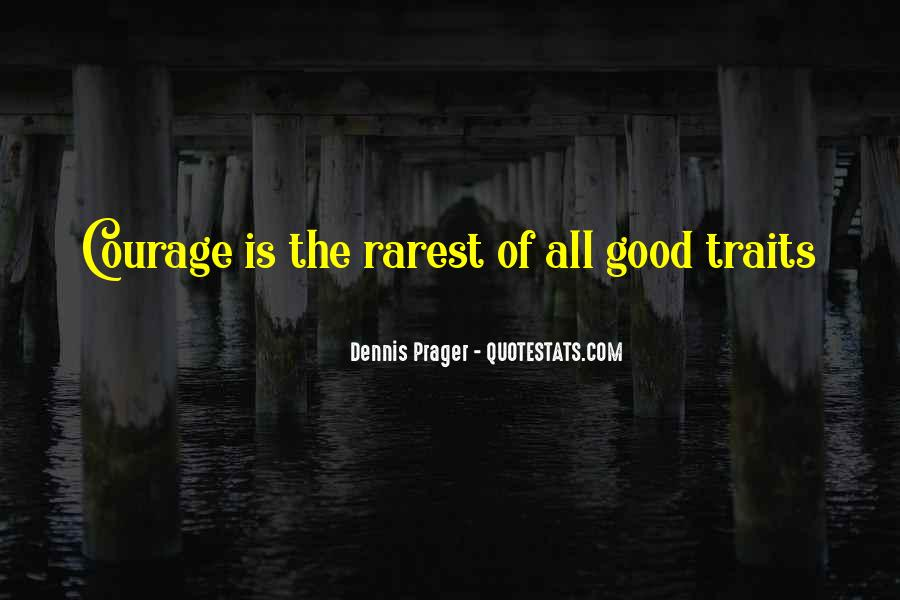 Quotes About Good Traits #632075