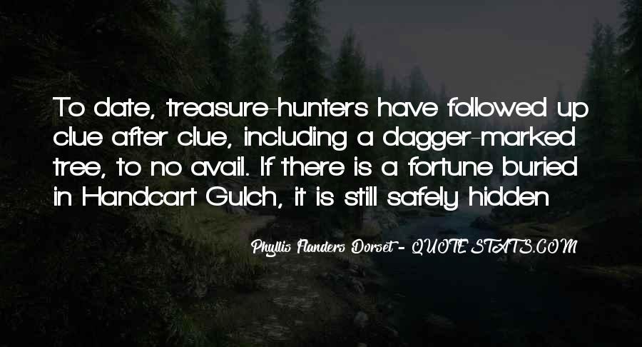 Quotes About Buried Treasure #1161727