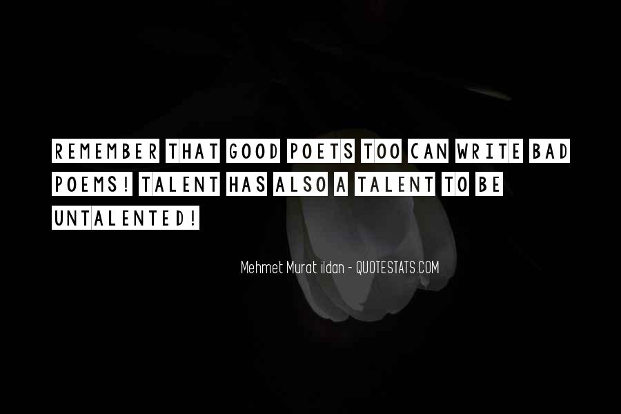 Quotes About Untalented #280407