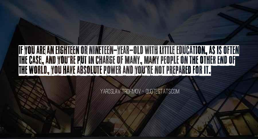 Quotes About Power Of Education #271797