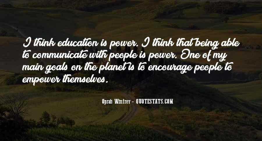 Quotes About Power Of Education #458039