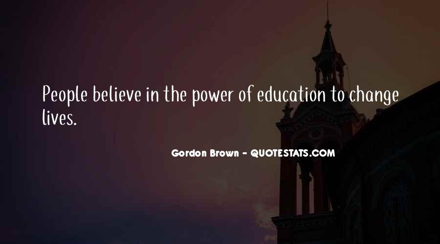Quotes About Power Of Education #632745