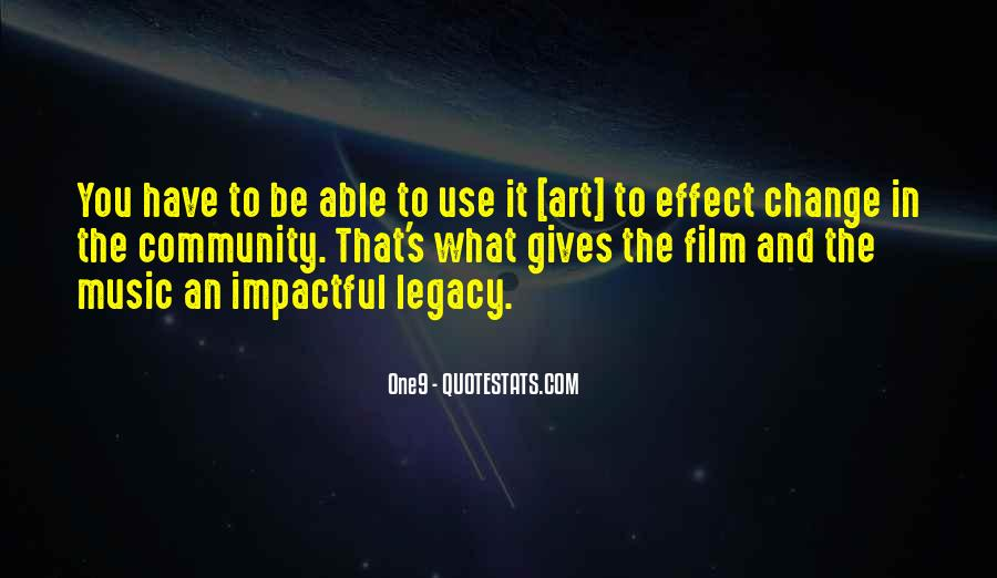 Quotes About Legacy #102528