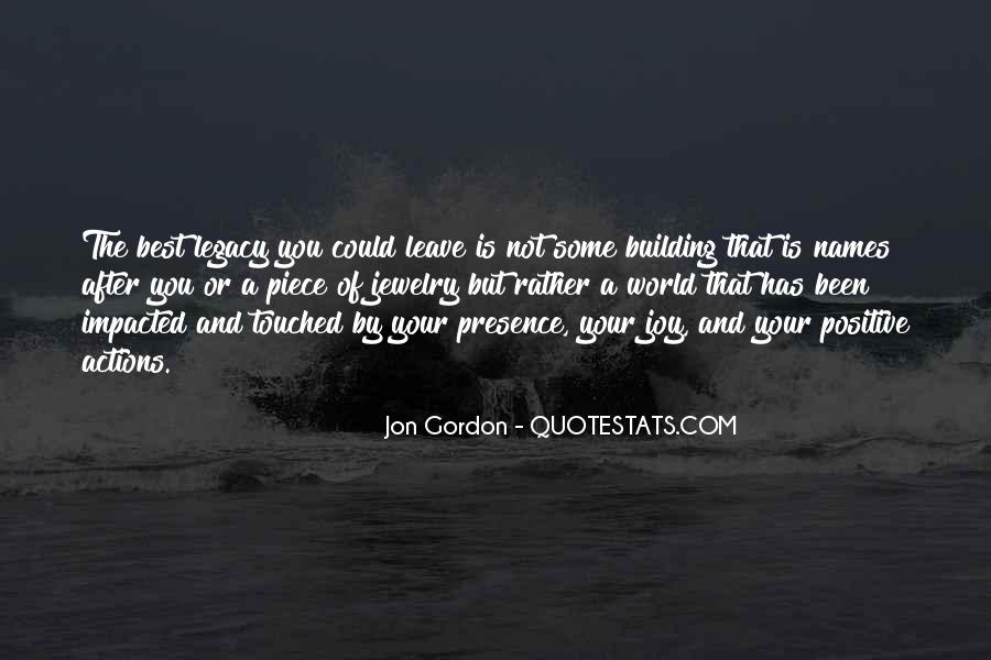 Quotes About Legacy #3011
