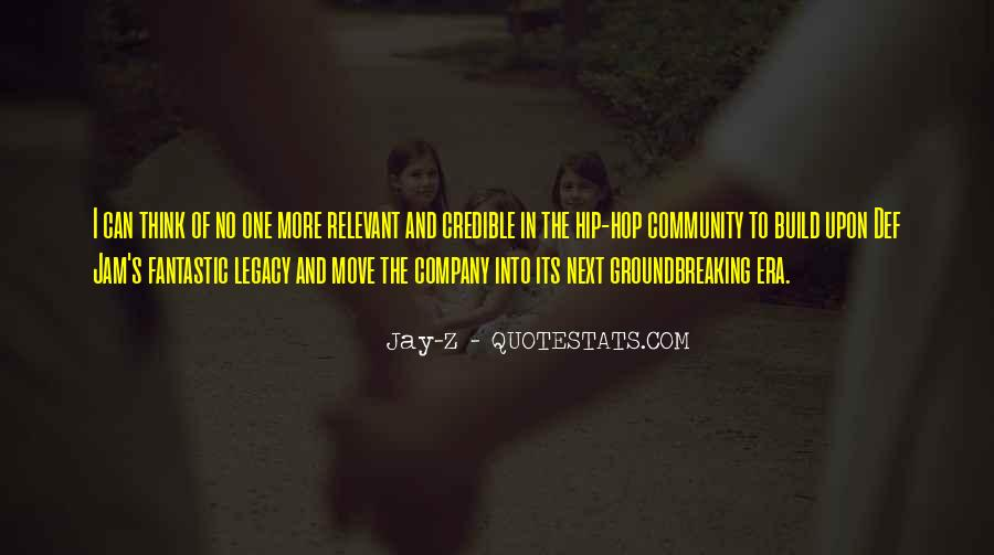 Quotes About Legacy #40414
