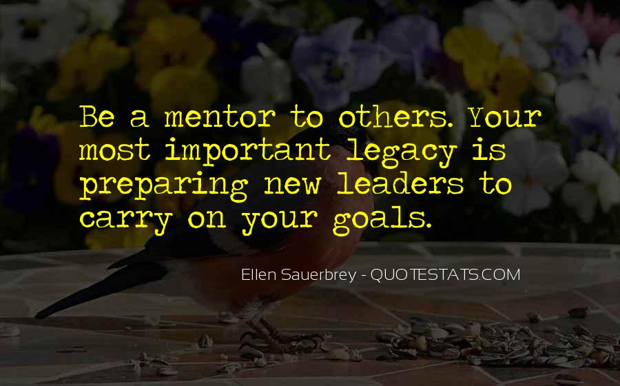 Quotes About Legacy #5216