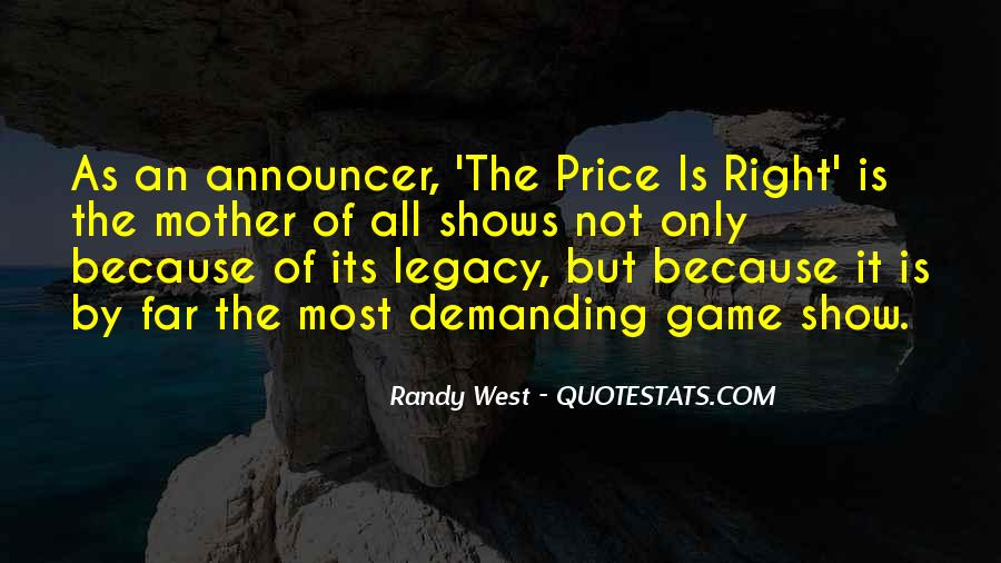 Quotes About Legacy #62234