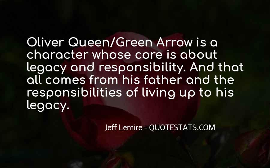 Quotes About Legacy #74247