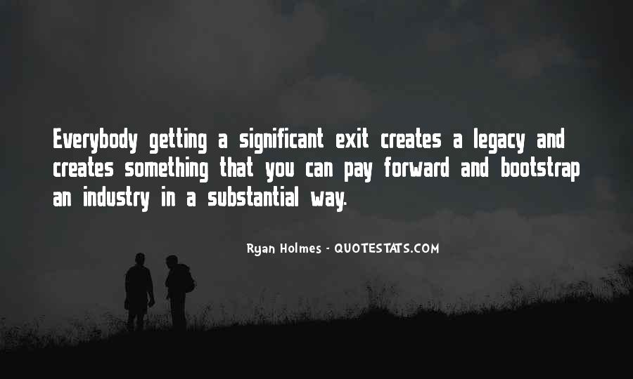 Quotes About Legacy #84889