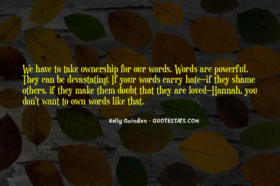 Quotes About Words That Are Powerful #1220925