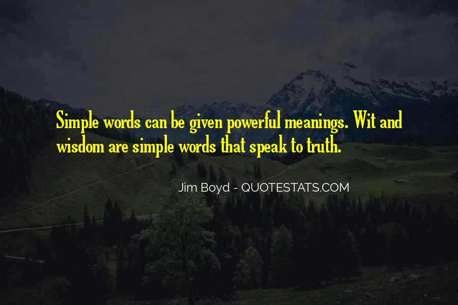 Quotes About Words That Are Powerful #1404051