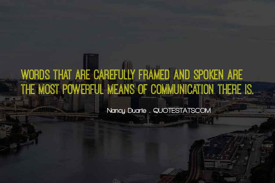 Quotes About Words That Are Powerful #1670533