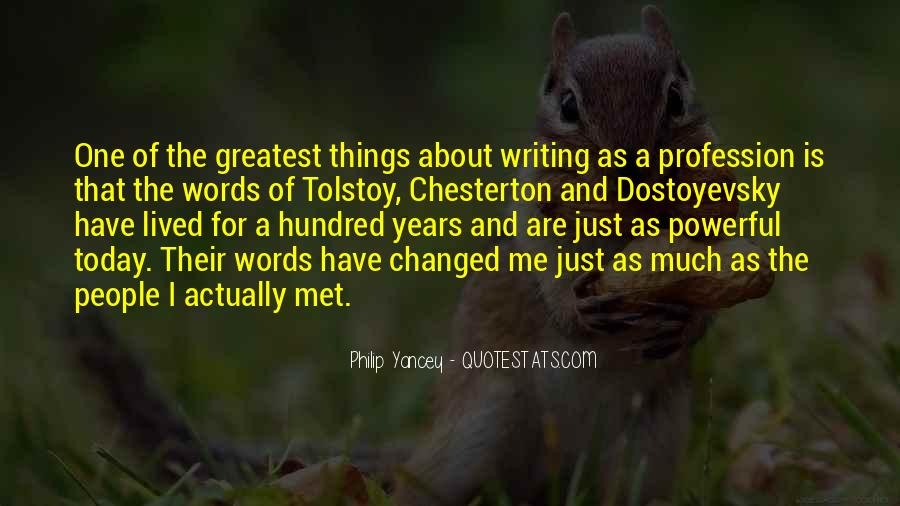 Quotes About Words That Are Powerful #1805351