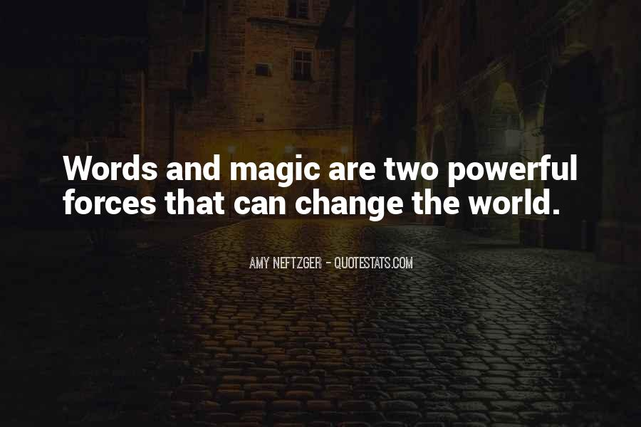 Quotes About Words That Are Powerful #1851748