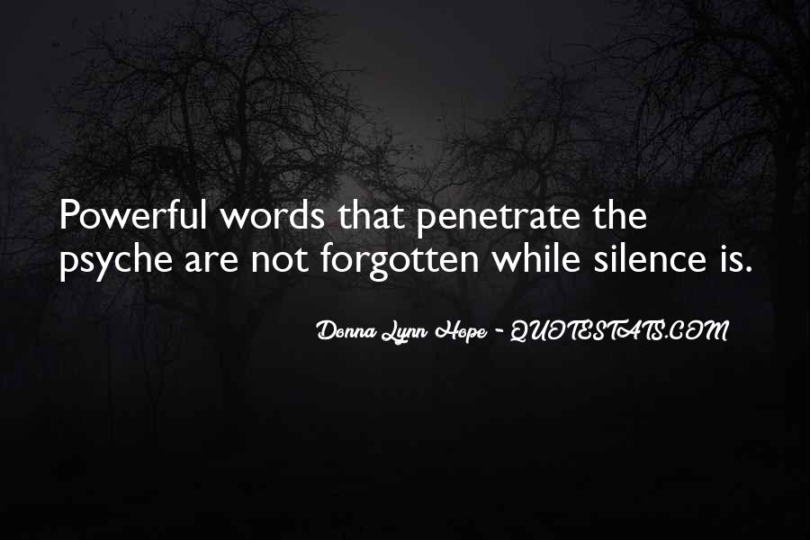 Quotes About Words That Are Powerful #737194