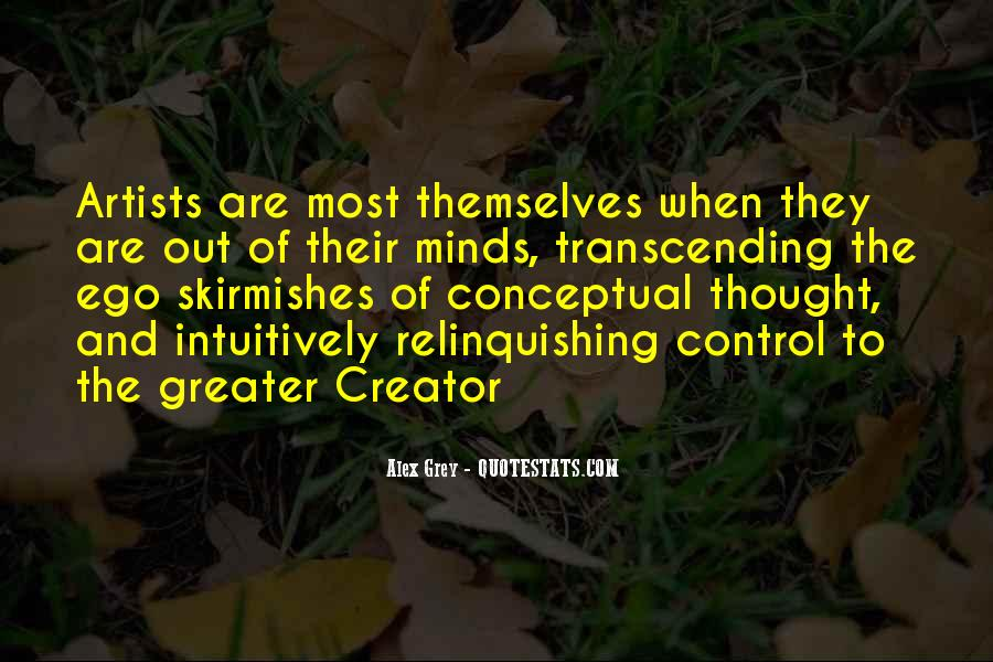 Quotes About Relinquishing Control #1166375