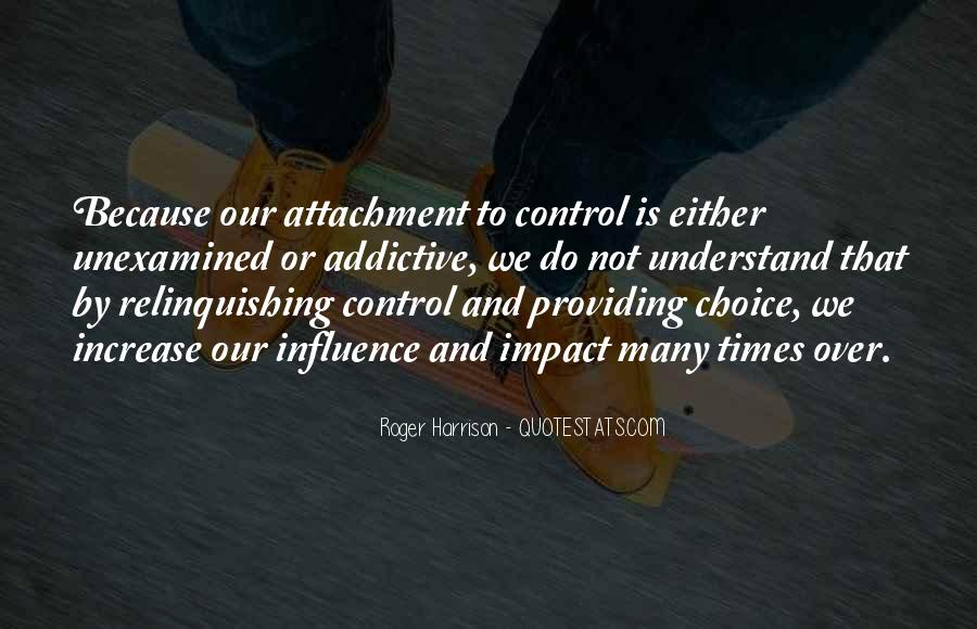 Quotes About Relinquishing Control #1748682