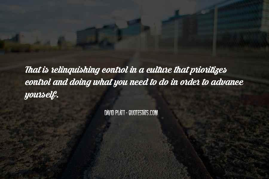 Quotes About Relinquishing Control #914616