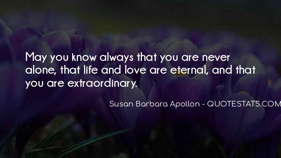 Quotes About Extraordinary Love #1049983