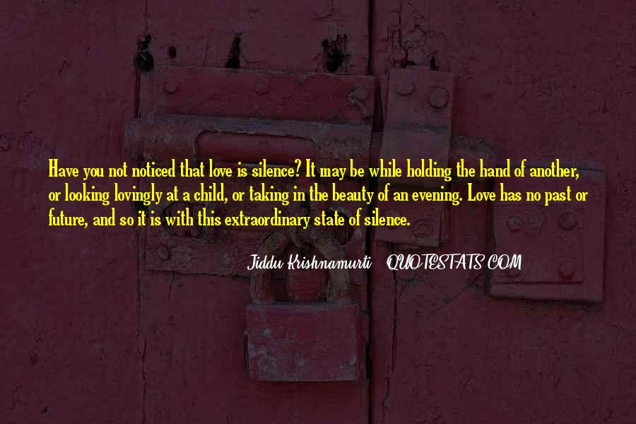 Quotes About Extraordinary Love #264546