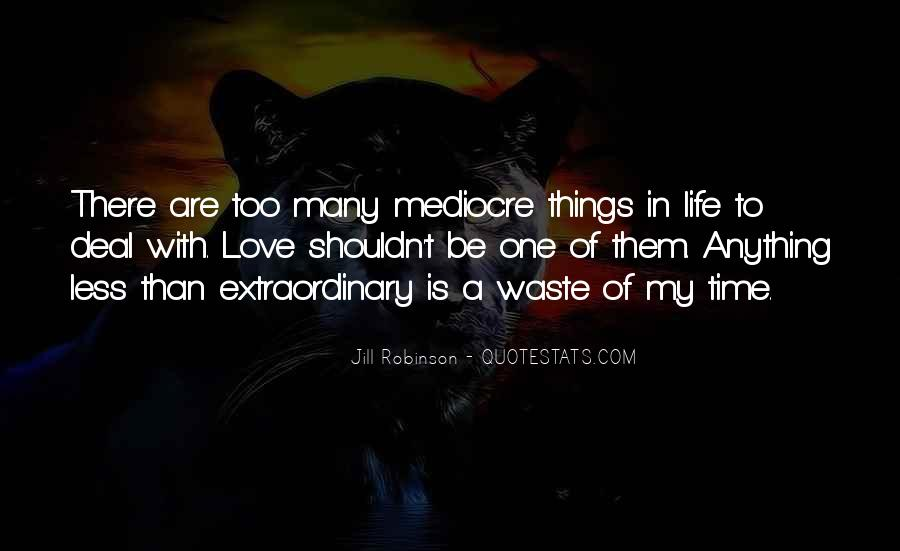 Quotes About Extraordinary Love #42135