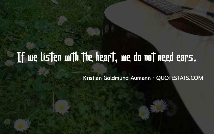 Quotes About Listen #18532