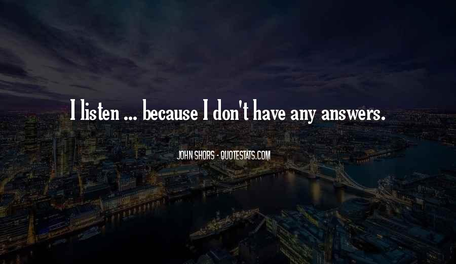 Quotes About Listen #7070