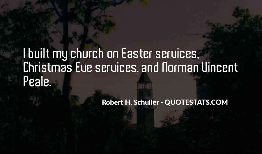Quotes About Church Services #150904