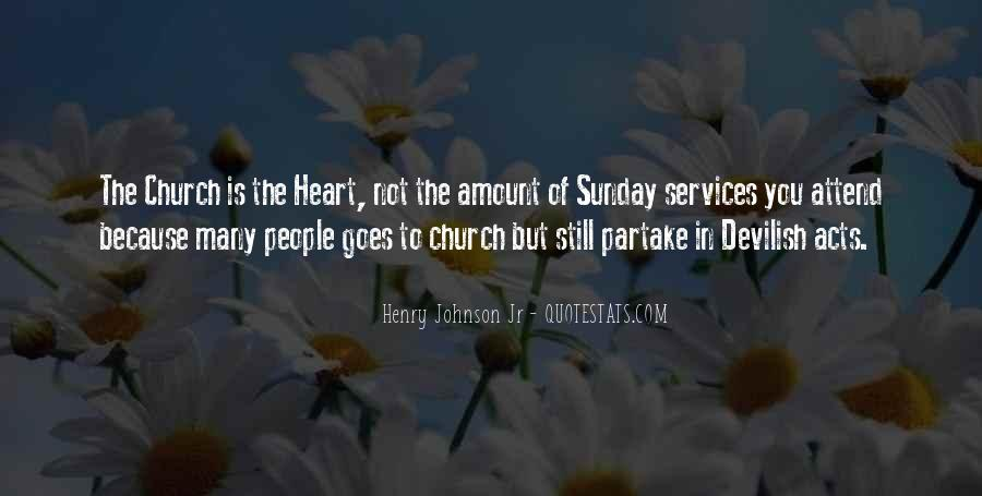 Quotes About Church Services #1518254
