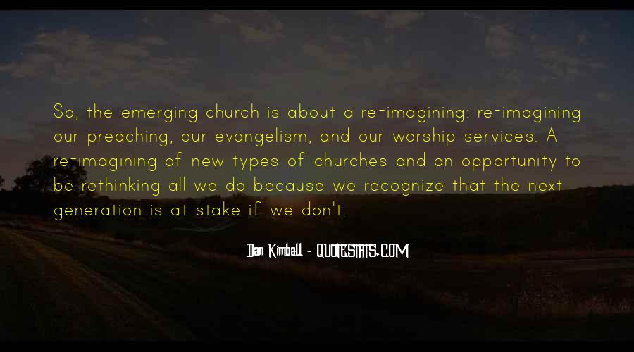 Quotes About Church Services #1656611
