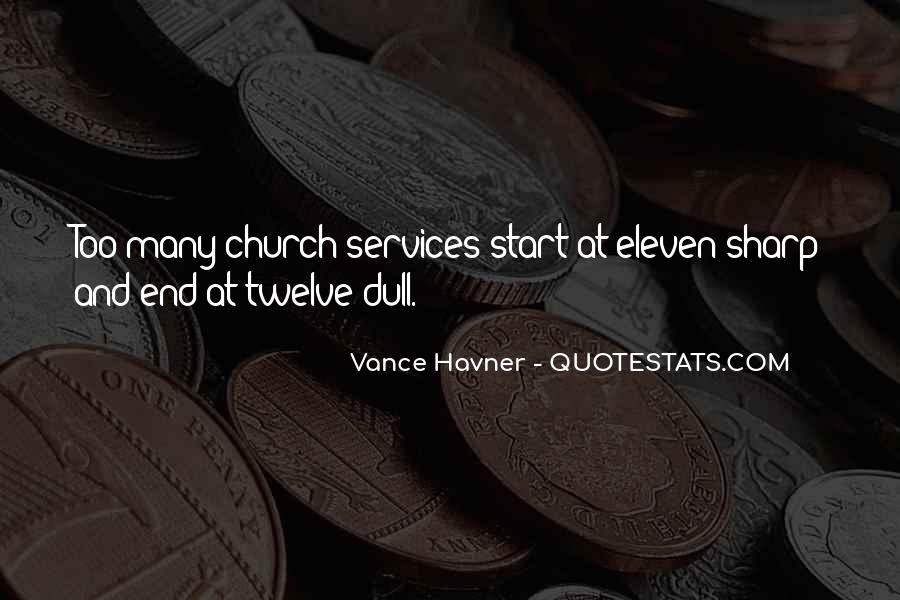 Quotes About Church Services #244140