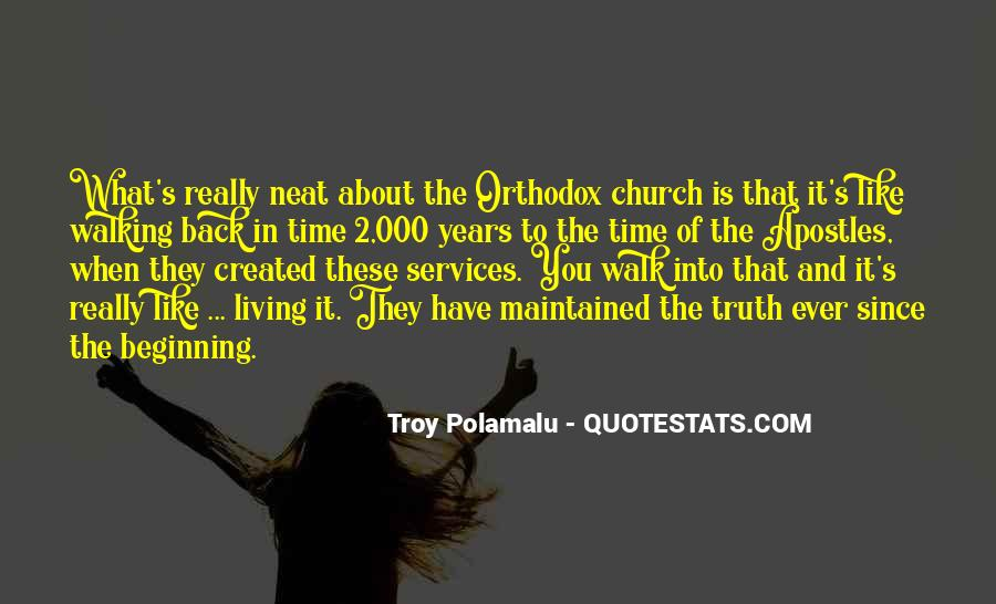 Quotes About Church Services #61621