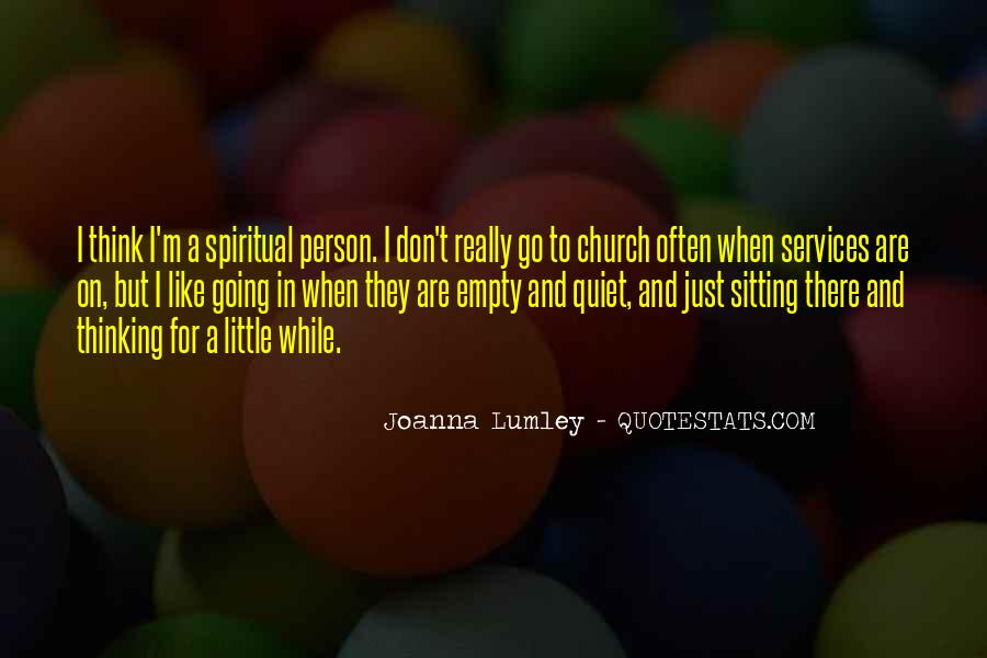 Quotes About Church Services #659603