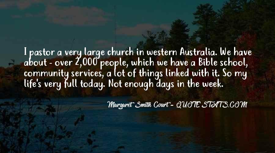 Quotes About Church Services #665530