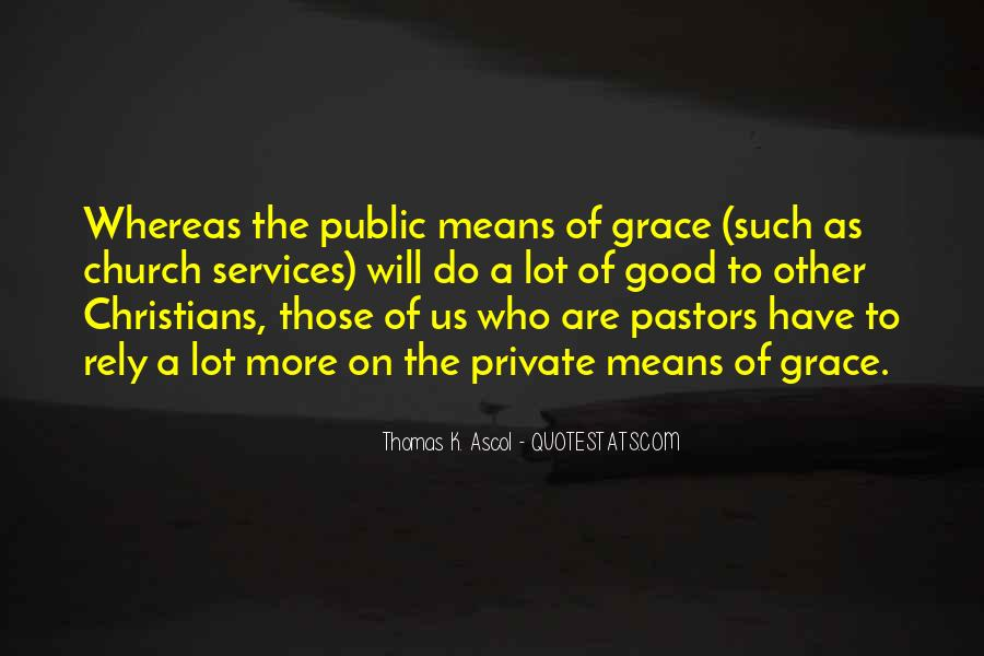 Quotes About Church Services #869745