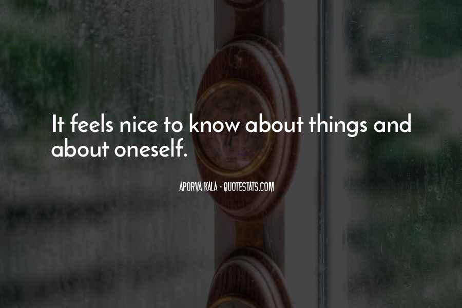 Quotes About Knowing How Someone Feels #535647