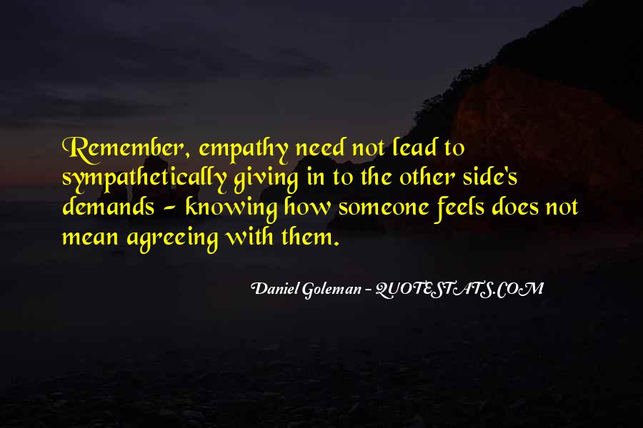 Quotes About Knowing How Someone Feels #778354