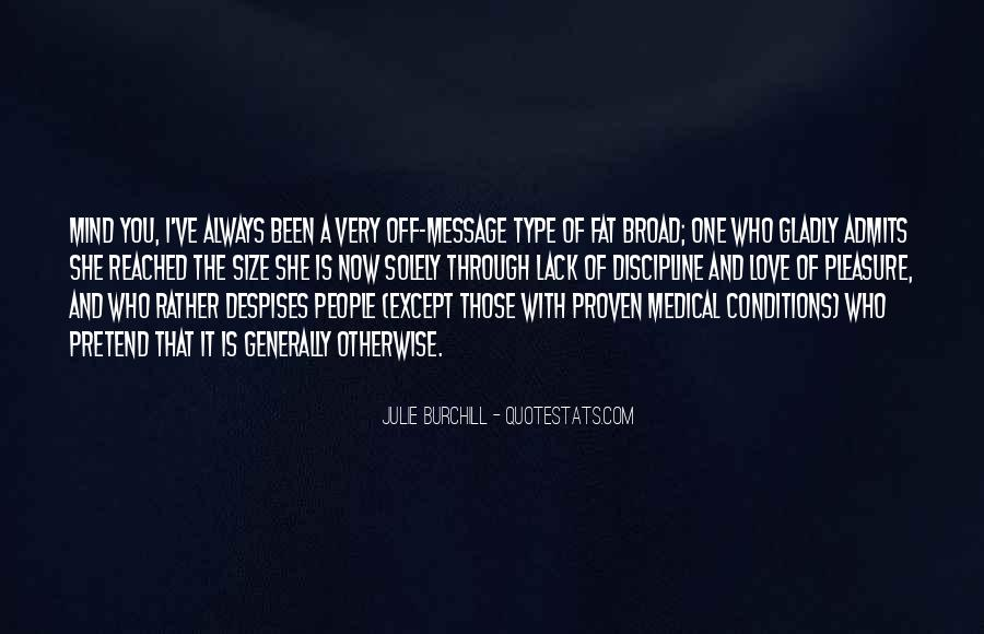 Quotes About Medical Conditions #232926