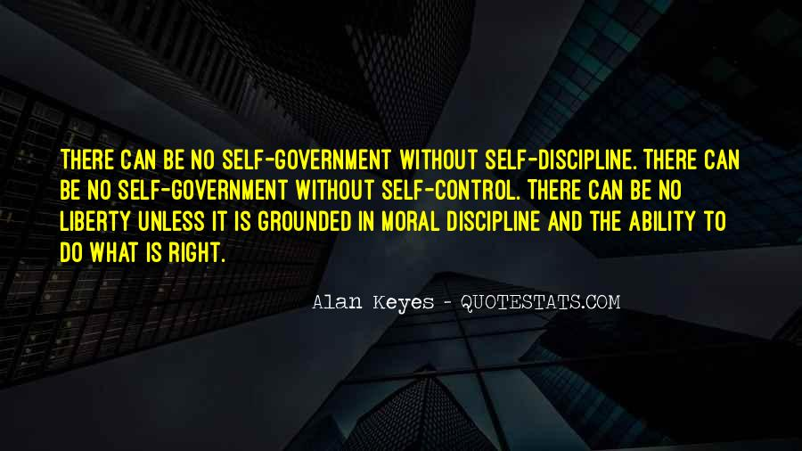 Quotes About Discipline And Self Control #80828