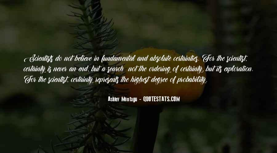 Quotes About Absolute Certainty #1448039