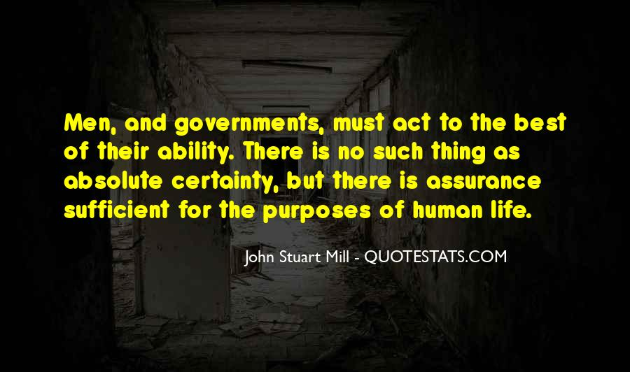 Quotes About Absolute Certainty #1560120