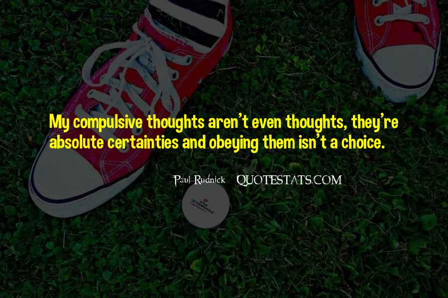 Quotes About Absolute Certainty #1643350