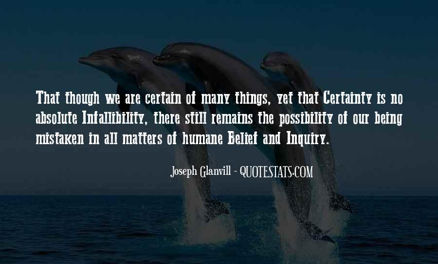 Quotes About Absolute Certainty #360287