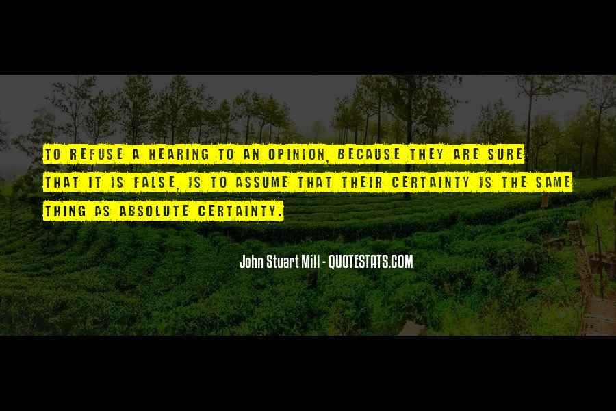 Quotes About Absolute Certainty #409540